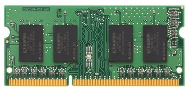 Память Kingston SODIMM DDR3-1600 2048MB PC3-12800 (KVR16S11S6/2)
