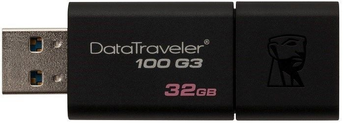 Флеш память USB Kingston DataTraveler 100 G3 32GB USB 3.0 (DT100G3/32GB)
