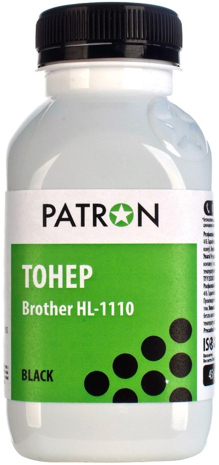 Тонер Patron Brother HL-1110/1112 DCP-1510/1512 MFC-1810/1815 TN-1075 (T-PN-BHL1110-045)