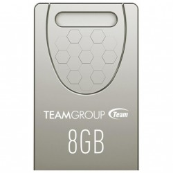 USB флеш накопитель Team 8GB C156 Silver USB 2.0 (TC1568GS01)