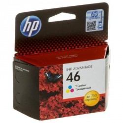 Картридж HP DJ No. 46 Ultra Ink Advantage Color (CZ638AE)