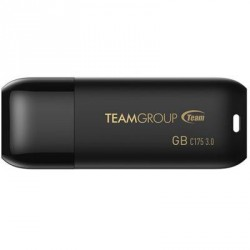USB флеш накопитель Team 16GB C175 Pearl Black USB 3.1 (TC175316GB01)