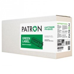 Картридж PATRON HP LJ Pro400 M401/ M425 Series/CF280 GREEN Label (PN-80AGL)