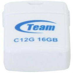 USB флеш накопитель Team 16GB C12G White USB 2.0 (TC12G16GW01)