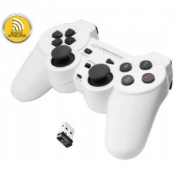 Геймпад Esperanza Gladiator PC/PS3 White (EGG108W)