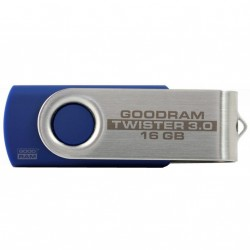 USB флеш накопитель GOODRAM 16GB Twister Blue USB 2.0 (UTS2-0160B0R11)