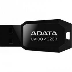 A-DATA 32GB DashDrive UV100 Black USB 2.0 (AUV100-32G-RBK)