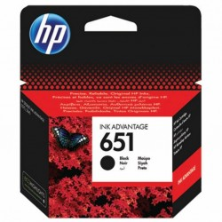 Картридж HP DJ No.651 black Ink Advantage (C2P10AE)