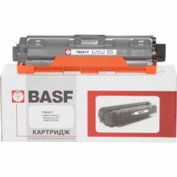 Картридж BASF для Brother HL-3140CW/DCP-9020CDW аналог TN241Y Yellow (KT-TN241Y)