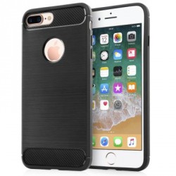 Чехол для моб. телефона для Apple iPhone 8 Plus Carbon Fiber (Black) Laudtec (LT-AI8PB)