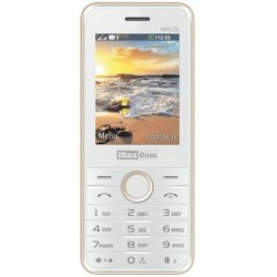 Maxcom MM136 White-Gold
