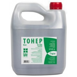 Тонер ColorWay для HP LJ 1000/1010/1200/2100/AX (1kg) Bottle (TH-1000-1B)