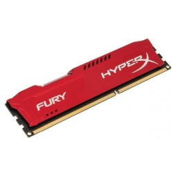 Память Kingston DDR3-1866 4096MB PC3-14900 HyperX FURY Red (HX318C10FR/4)