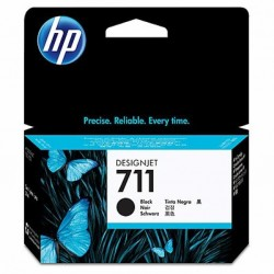 Картридж HP DJ No.711 DesignJet 120/520 Black (CZ129A)