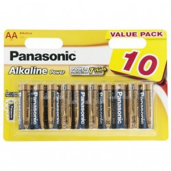 Батарейка PANASONIC LR06 Alkaline Power * 10 (LR6REB/10BW)