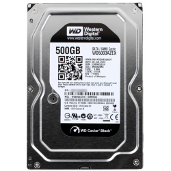 Жесткий диск Western Digital Black 500GB 7200rpm 64MB WD5003AZEX 3.5 SATA III