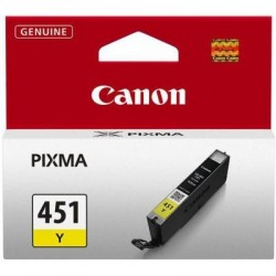 Картридж Canon CLI-451Y XL Yellow (6475B001)