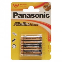 Батарейка PANASONIC LR03 Alkaline Power * 4 (LR03REB/4BPR)