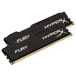 Память Kingston DDR3-1866 8192MB PC3-14900 (Kit of 2x4096) HyperX FURY Black (HX318C10FBK2/8)