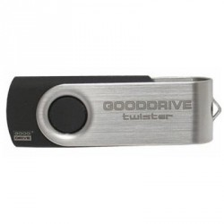 GOODRAM 16GB Twister Black USB 2.0 (UTS2-0160K0R11)