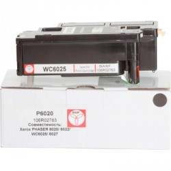 Картридж BASF для Xerox Phaser 6020/6022/WC6025/6027 Black (KT-106R02763)