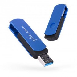 USB флеш накопитель eXceleram 32GB P2 Series Blue/Black USB 3.1 Gen 1 (EXP2U3BLB32)