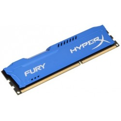 Память Kingston DDR3-1866 4096MB PC3-14900 HyperX FURY Blue (HX318C10F/4)