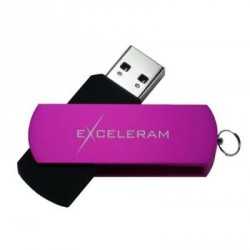 USB флеш накопитель eXceleram 16GB P2 Series Rose/Black USB 3.1 Gen 1 (EXP2U3ROB16)