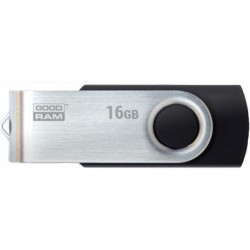 USB флеш накопитель GOODRAM 16GB Twister Black USB 3.0 (UTS3-0160K0R11)