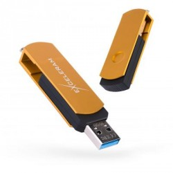 USB флеш накопитель eXceleram 16GB P2 Series Gold/Black USB 2.0 (EXP2U2GOB16)