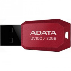 A-DATA 32GB DashDrive UV100 Red USB 2.0 (AUV100-32G-RRD)