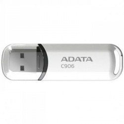 USB флеш накопитель A-DATA 16Gb C906 White USB 2.0 (AC906-16G-RWH)