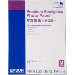 Бумага EPSON A2 Premium Semigloss Photo Paper (C13S042093)