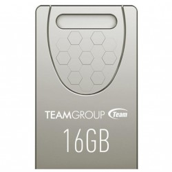 USB флеш накопитель Team 16GB C156 Silver USB 2.0 (TC15616GS01)