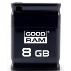 GOODRAM 8GB Piccolo Black USB 2.0 (UPI2-0080K0R11)