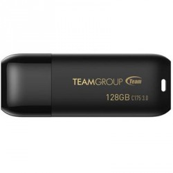 USB флеш накопитель Team 128GB C175 Pearl Black USB 3.1 (TC1753128GB01)