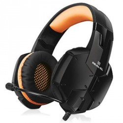 REAL-EL GDX-7700 SURROUND 7.1 Black Orange