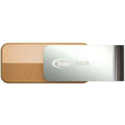 USB флеш накопитель Team 64GB C143 Brown USB 3.0 (TC143364GN01)