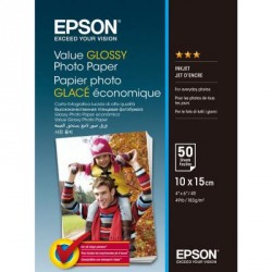 Бумага EPSON 10х15 Value Glossy Photo (C13S400038)