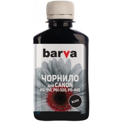 Чернила Barva для Canon PGI-520/PG-510 (MG2140/MP230/MP280) Black 180г (пигмент) (C520-089) (I-BAR-CPGI520-180-BP)